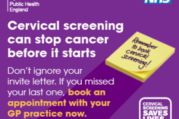 BOOK YOUR CERVICAL SCREENING!